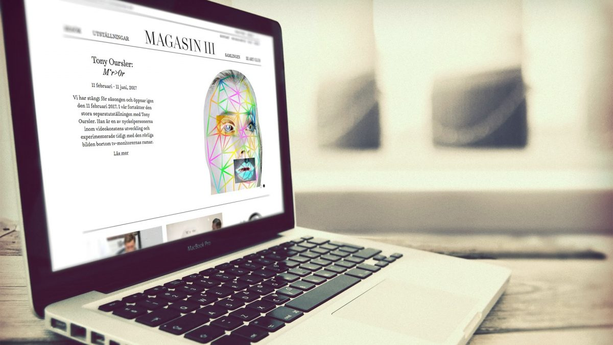 Magasin III online experience